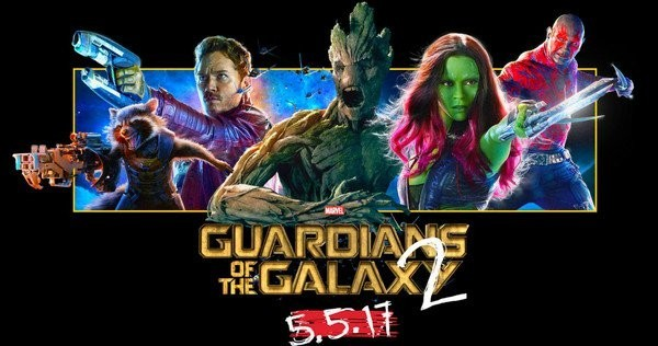 Guardians Of The Galaxy vol 2: 5.5.2017