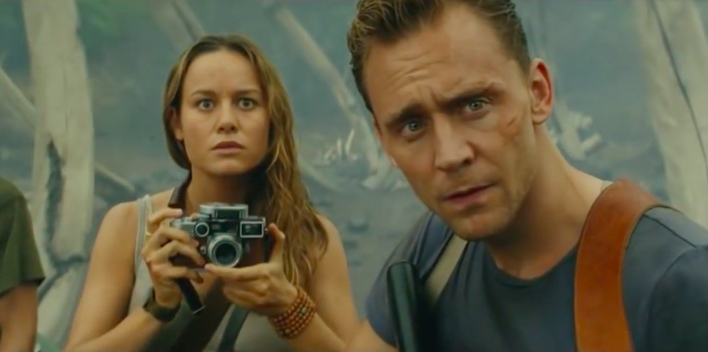 Tom Hiddleston and Brie Larson
