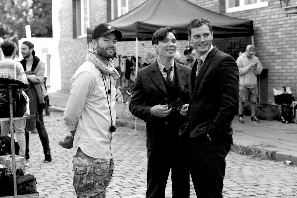 Sean Ellis, Cillian Murphy and Jamie Dornan (Foto: James Lisle)