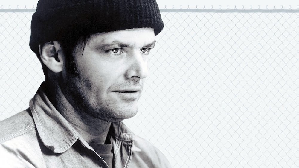 Jack Nicholson in One Flew Over Cuckoo's Nest