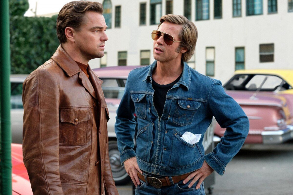 Leonardo DiCiaprio and Brad Pitt (photo: Sony Pictures)