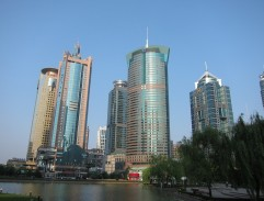 Financial center of Shanghai