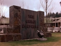 The Great Northern Hotel Sign