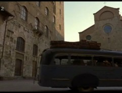Arriving to San Gimignano