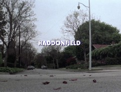 Haddonfield establishing shot