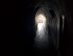 The dark passage