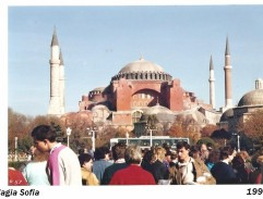Arrival of WHO to Hagia Sofia