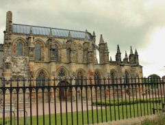 The Rosslyn Chapel in Scotland