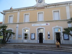Railway station in Hyeres